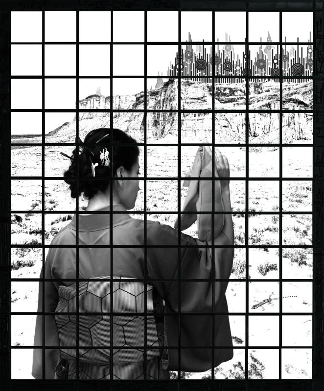 Polaroid Mosaic Art by Baptiste Tavernier