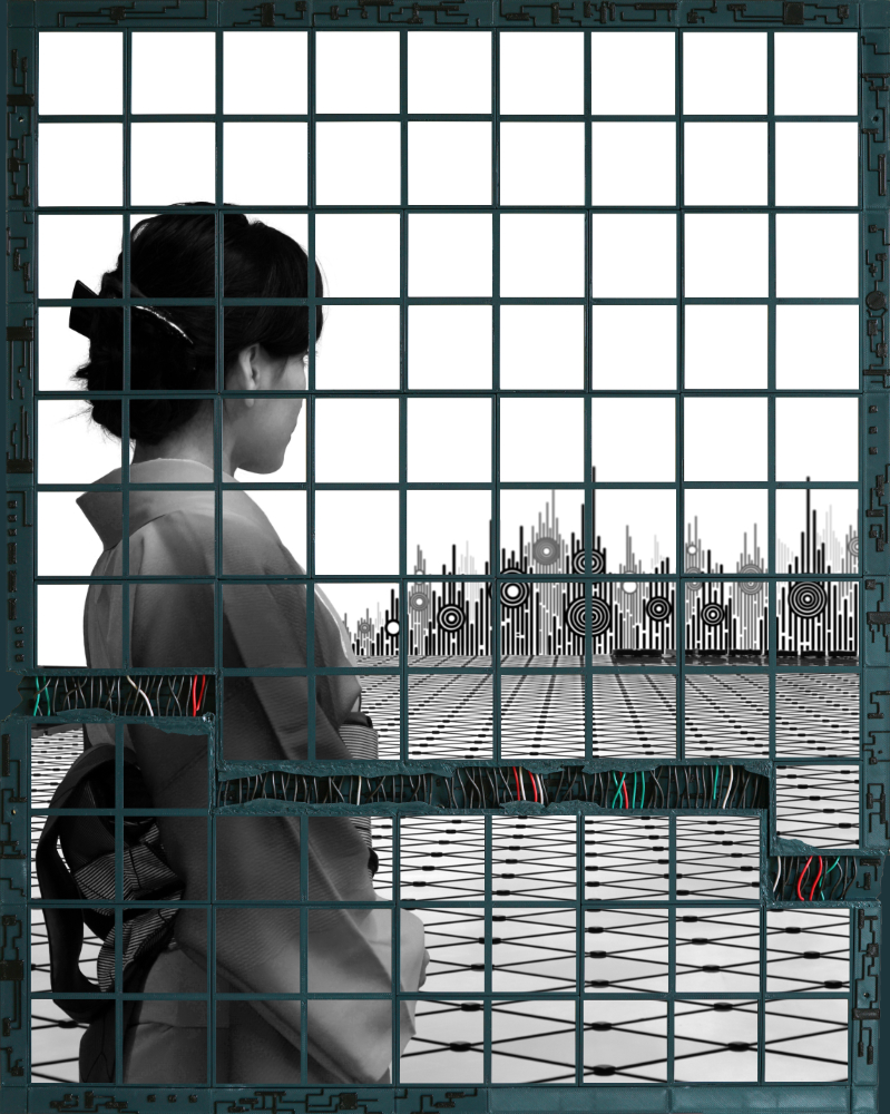 Baptiste Tavernier - Polaroid Mosaic Art